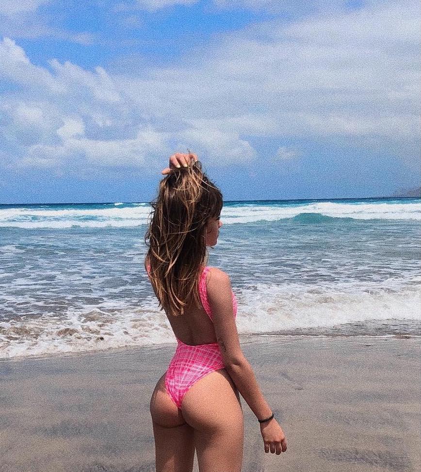 El culazo de Aitana en bikini