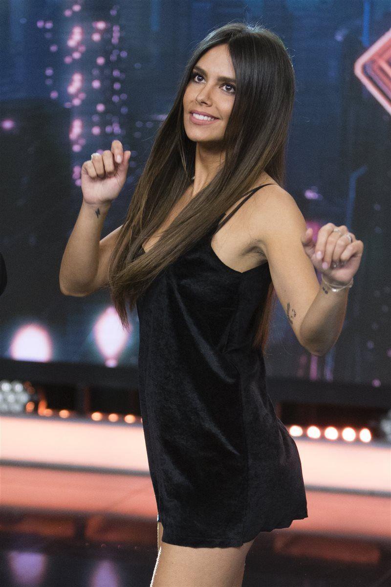 Cristina Pedroche con un mini vestido muy sexy