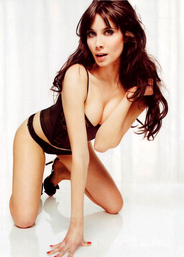 Pilar Rubio en sexy bragas negras